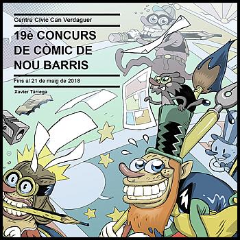 19e Concurs de Còmic de Nou Barris