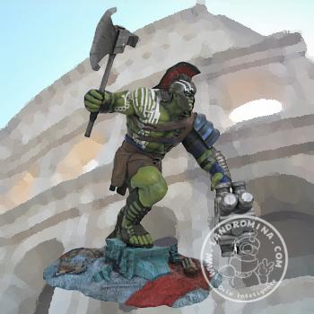 Hulk Gladiador Diorama PVC