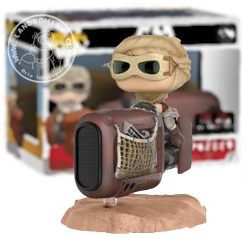 Rey en Speeder Funko PoP
