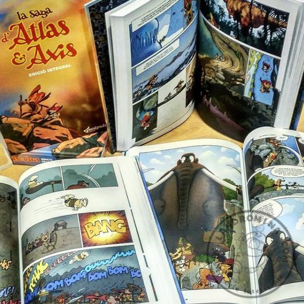 La Saga Atlas i Axis