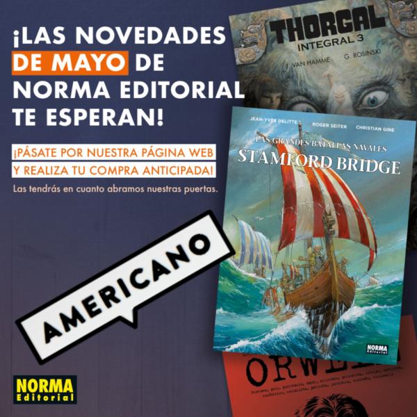 Novedades Norma Americano Mayo 2020