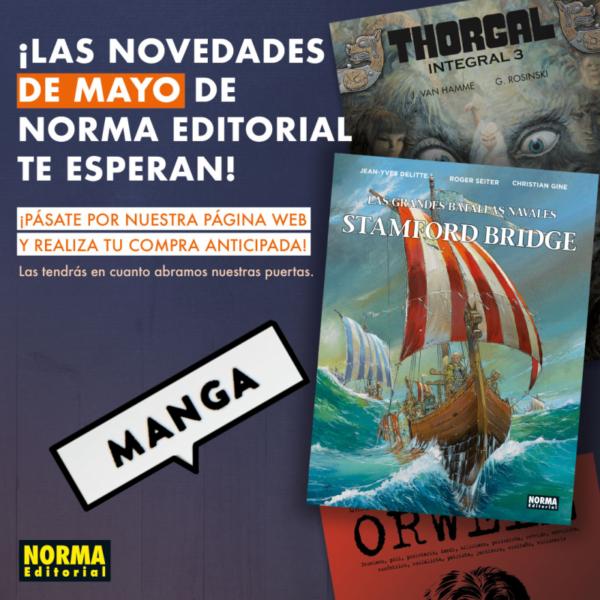 Novedades Norma Manga Mayo 2020